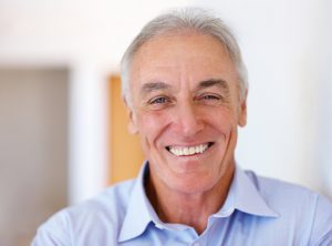 Elderly person who had the benifit of all on 4 Implants